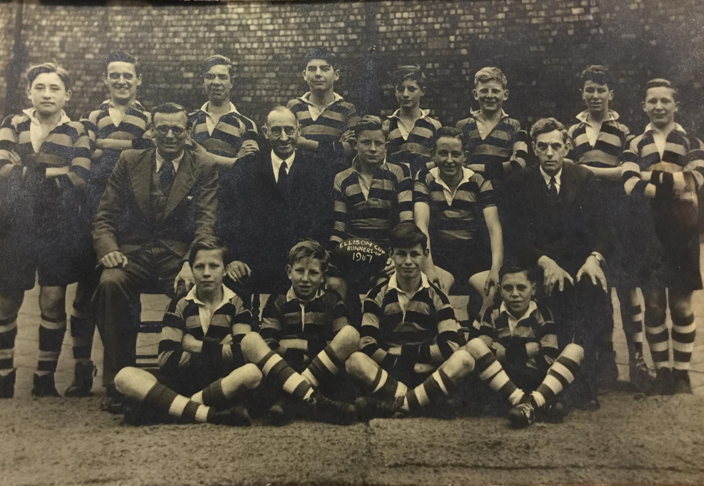 Do you recognise anyone in this brilliant old rugby team picture?