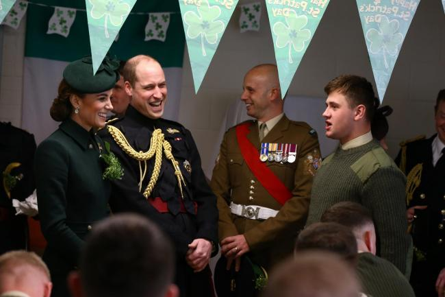 Former Rainford High pupil tells Prince William about the moment he survived a buffalo attack