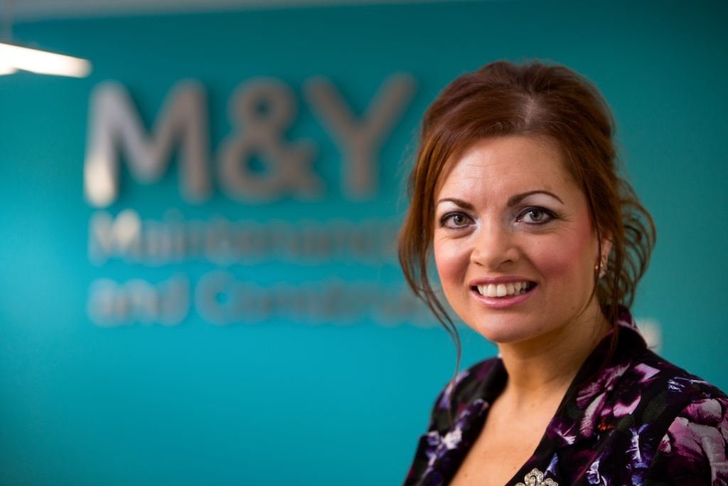 Meet Gill a construction firm managing director nominated for a top award for her work in the male dominated sector
