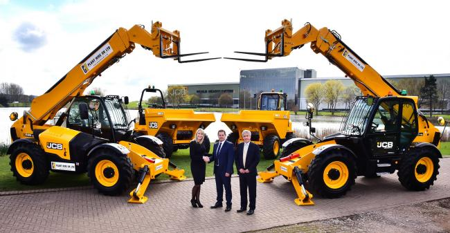 JCB secures multi-million pound deal with Haydock firm