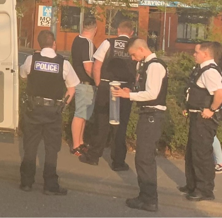 Woman arrested on suspicion of possessing a knife on Westfield Street