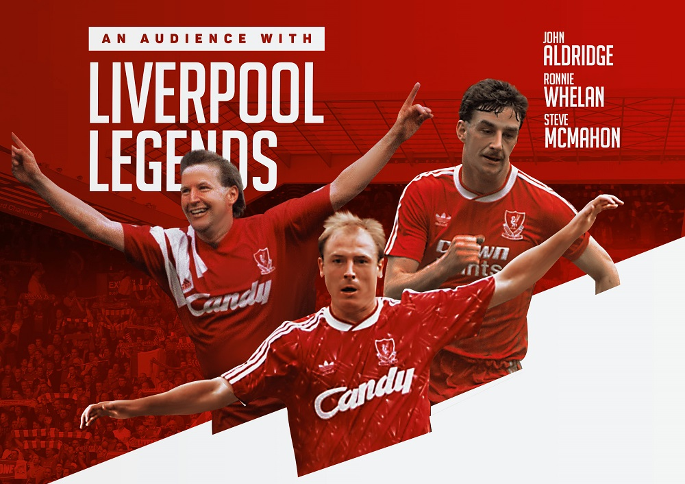 Three former Liverpool Football Club stars coming to town for one night only