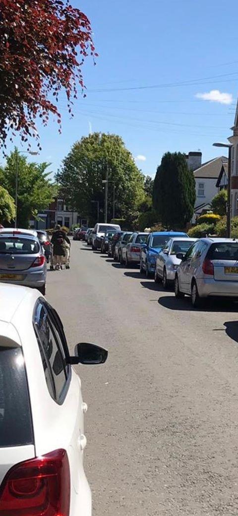 Warning issued to pavement parkers after pedestrians forced to walk on roads