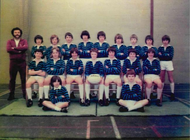 This team photograph is from Grange Park School taken in the 1970s. Do you recognise any of them?