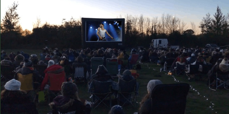 Watch Bohemian Rhapsody under the stars at outdoor cinema experience at Haydock Park