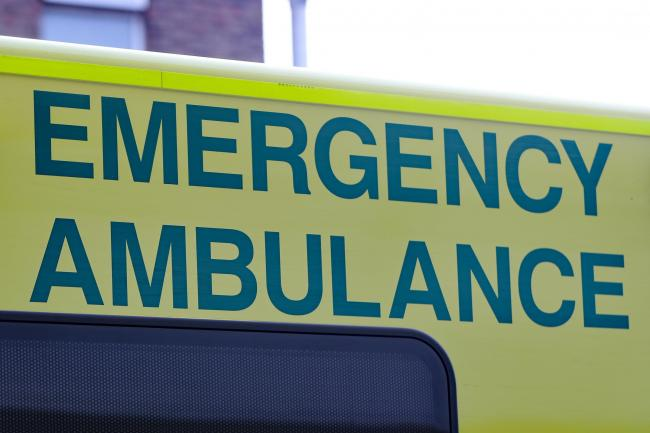 An ambulance was called to Billinge