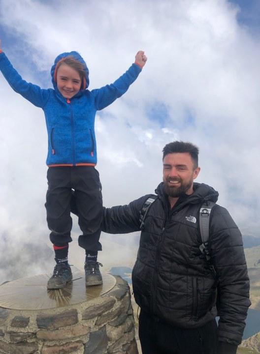 Daredevil Lucas, 6, is youngest 3 Peaks Challenge conqueror