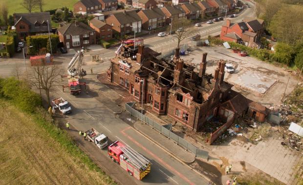 Plans to bulldoze Green Dragon on Gartons Lane, Sutton Manor