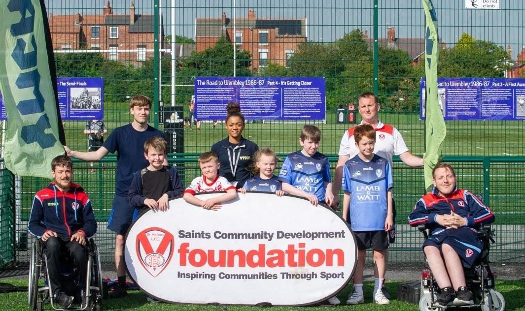 Saints launch junior disability team