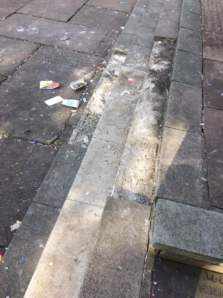 Anger as vandals deface Prescot Parish Church