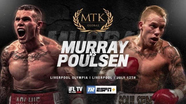 Martin Murray learns his opponent