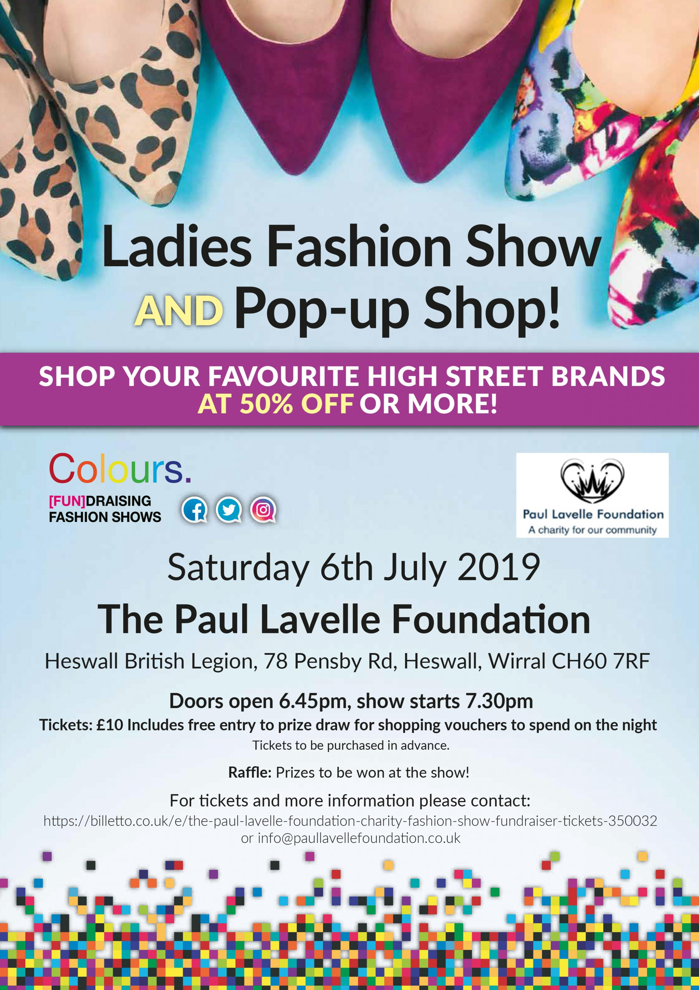 The Paul Lavelle Foundation Fashion Show Fundraiser